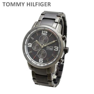 トミーヒルフィガー 腕時計 1710339 ブレス ガンメタル メンズ TOMMY HILFIGER