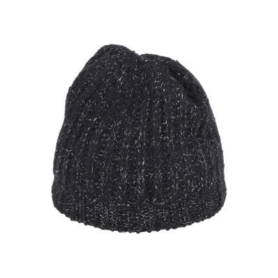 DIXIE 帽子 ブラック 12 レーヨン 40% / 毛(アルパカ) 24% / アクリル 17% / ポリエステル 15% / ナイロン 4%