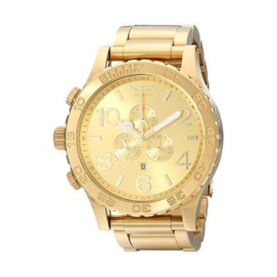 新品NIXON (ニクソン) メンズ クロノグラフ ステンレススチール腕時計 One Size ゴールドトーン [並行輸入品