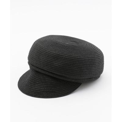 MEW'S REFINED CLOTHES / こま編みキャスケット WOMEN 帽子 > キャスケット