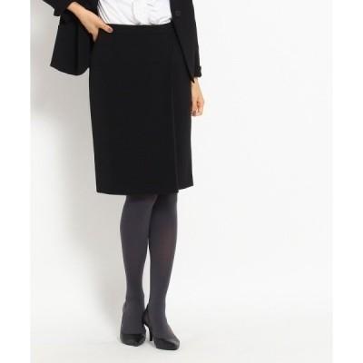◆[S]ラップ風ストレッチスカート