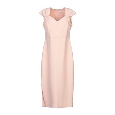 PAPERLACE London 7分丈ワンピース・ドレス ピンク 12 ポリエステル 91% / ポリウレタン 9% 7分丈ワンピース・ドレス