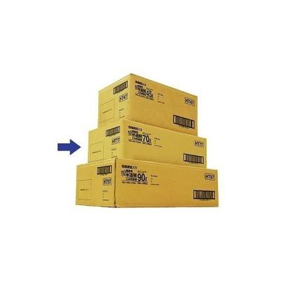 日本サニパック日本サニパック 容量表記入り白半透明ごみ収集袋 炭カル入 70L HT77 1箱(10枚×20パック入)