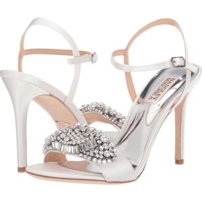 バッジェリー ミシュカ Badgley Mischka レディース サンダル・ミュール シューズ・靴 Odelia Soft White