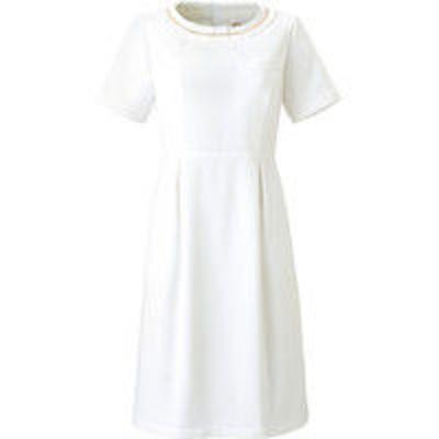 チトセチトセ ワンピース 女性用 ホワイト 9号 CL-0180(取寄品)