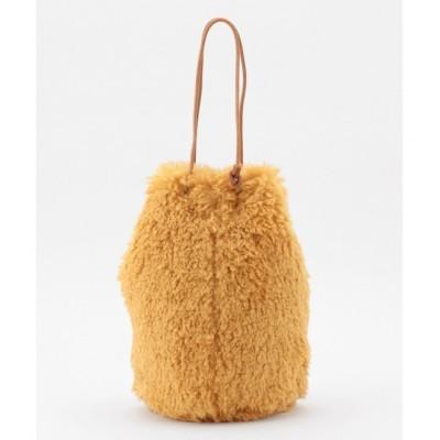 【クミキョク/組曲】 【WEB限定・リバーシブル対応】エコファー 巾着バッグ