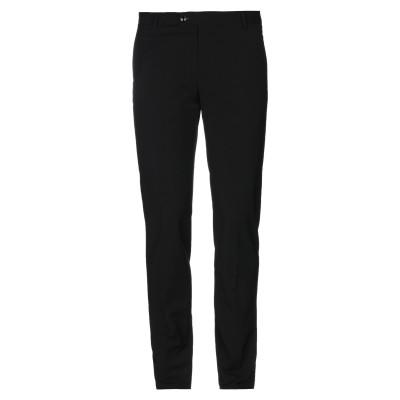 トネッロ TONELLO パンツ ブラック 48 レーヨン 80% / バージンウール 9% / モヘヤ 9% / ポリウレタン 2% パンツ