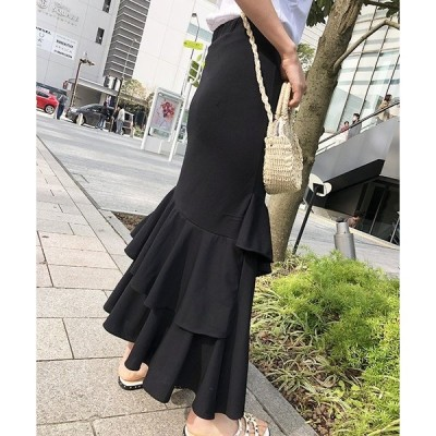 フリルスカート ファッション 韓国服 レディース