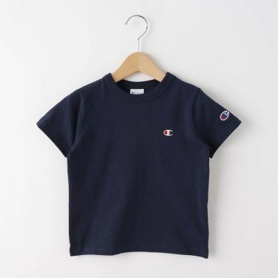 デッサン Dessin 【100-130cm】champion ベーシックコットン(綿)Tシャツ (ネイビー)