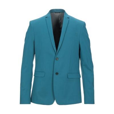 パトリツィア ペペ PATRIZIA PEPE テーラードジャケット ターコイズブルー 50 コットン 56% / ポリエステル 40% / ポリウ
