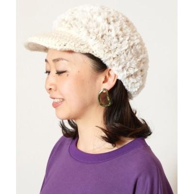 チャイハネ / 【チャイハネ】ファーファキャスケット WOMEN 帽子 > キャスケット