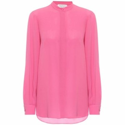 アレキサンダー マックイーン Alexander McQueen レディース ブラウス・シャツ トップス Silk blouse Hibiscus