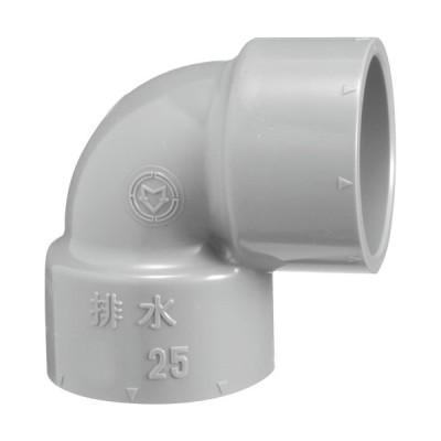 下水道関連製品>排水特殊継手>VP排水特殊継手 VP90度エルボ VPL VPL50X20 Mコード:71100 前澤化成工業