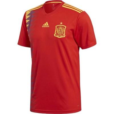 アディダス adidas メンズ サッカー トップス spain home shirt 2018 Red/Gold