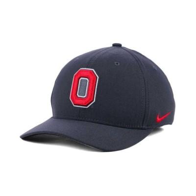 ナイキ メンズ 帽子 アクセサリー Ohio State Buckeyes Anthracite Classic Swoosh Cap