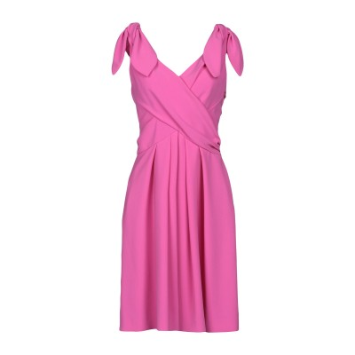 モスキーノ MOSCHINO ミニワンピース&ドレス ライトパープル 44 トリアセテート 64% / ポリエステル 36% ミニワンピース&ドレス