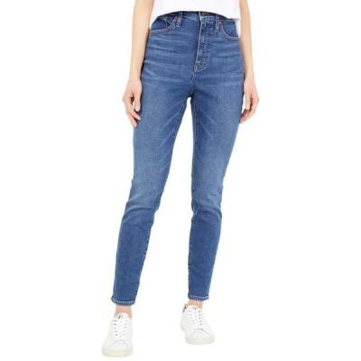 """メイドウェル レディース デニムパンツ ボトムス Curvy 10"""" High-Rise Skinny Jeans in Wendover Wash"""