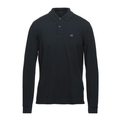 シーピーカンパニー C.P. COMPANY ポロシャツ ブラック 3XL コットン 100% ポロシャツ
