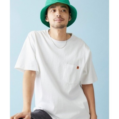 tシャツ Tシャツ UNIVERSAL OVERALL/ユニバーサルオーバーオール POCKET TEE ポケット付きTシャツ