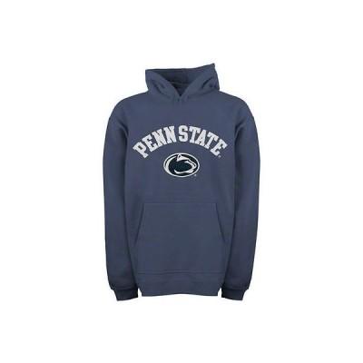 カレッジ NCAA USA アメリカ Penn State Nittany ライオンs ユース ネイビー ブルー Tackle Twill Hooded スゥエットhirt