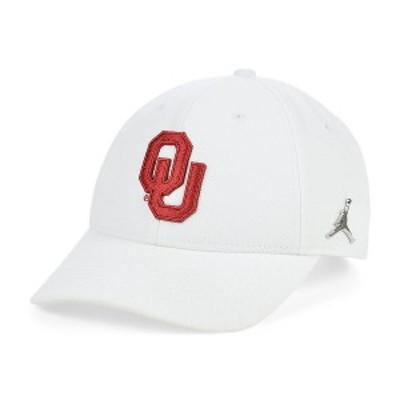ナイキ メンズ 帽子 アクセサリー Oklahoma Sooners Ingot Legacy 91 Adjustable Cap White