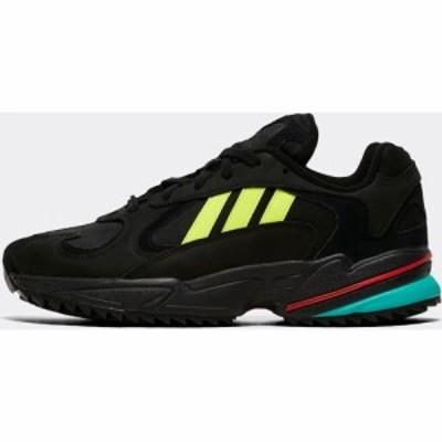 アディダス adidas Originals メンズ スニーカー シューズ・靴 Yung-1 Trainer Black/Hi Res Yellow