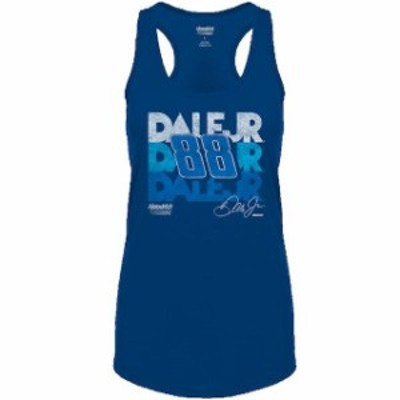 Checkered Flag チェッカード フラッグ スポーツ用品  Checkered Flag Dale Earnhardt Jr. Womens Royal Tank Top
