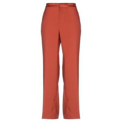 メゾンスコッチ MAISON SCOTCH パンツ 赤茶色 XS ポリエステル 100% パンツ