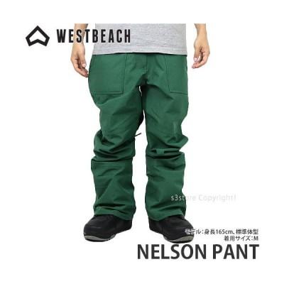21model ウエストビーチ パンツ WESTBEACH NELSON PANT 国内正規品 スノーボード スノボー ウエア ボトムス メンズ Col:HUNTER GREEN