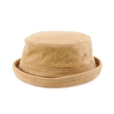 polcadot / ECO SUEDE PORKPIE HAT/エコスエード ポークパイ MEN 帽子 > ハット