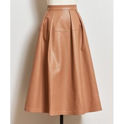 Noela / エコレザーフレアスカート WOMEN スカート > スカート