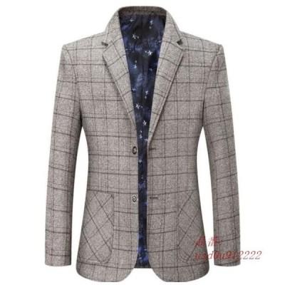 メンズテーラードジャケット ビジネススーツ カジュアルスーツ ブレザー ジャケット 個性 コート お洒落
