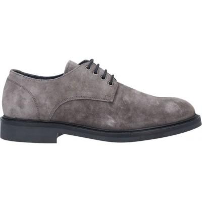 PIUMI メンズ シューズ・靴 laced shoes Lead