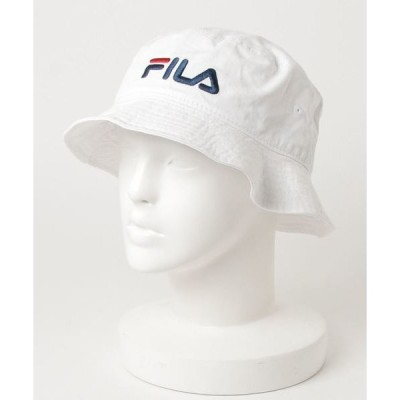 帽子 ハット 【FILA/フィラ】バケットハット/ロゴ刺繍