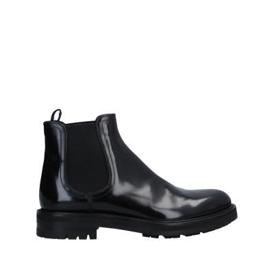 ドルチェ & ガッバーナ DOLCE & GABBANA ショートブーツ ブラック 10 牛革(カーフ) ショートブーツ