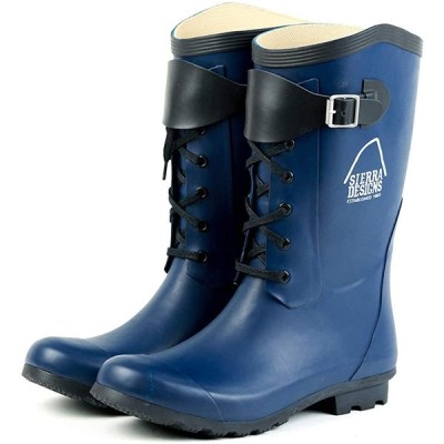 [SIERRA DESIGNS] [シエラデザインズ]レインシューズ レインブーツ 長靴 ブーツ SD2005 ユニセックス (LLL, NAVY)
