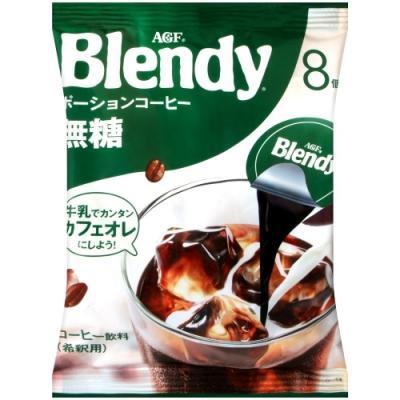 AGF Blendy咖啡球-無糖(144g)