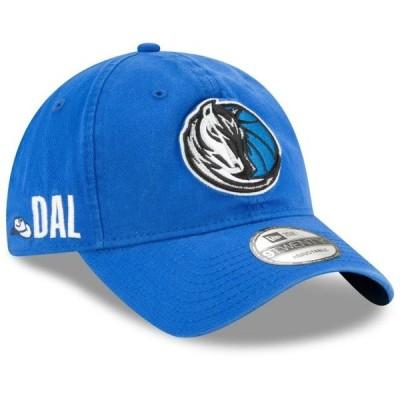 ユニセックス スポーツリーグ バスケットボール Dallas Mavericks New Era Team Localized 9TWENTY Adjustable Hat - Blue - OSFA 帽子