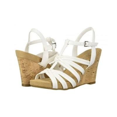 Aerosoles エアロソールズ レディース 女性用 シューズ 靴 ヒール Right Plush - White