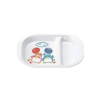 エンテック お子様食器 BB-10 角ランチ皿 ベン&ベティ 322027 6個(直送品)