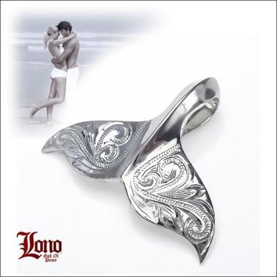 LONO ロノ ハワイアンジュエリー jewelry ネックレス ペンダントトップ メンズ レディース ホエールテイル 波柄 Sサイズ