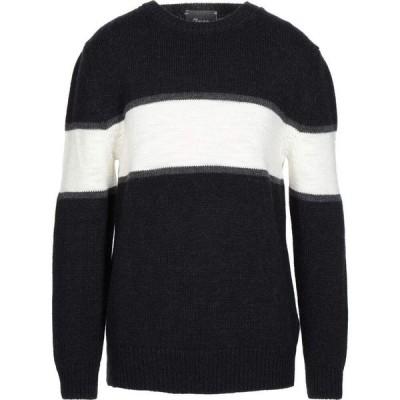 オビオスベーシック OBVIOUS BASIC メンズ ニット・セーター トップス sweater Black