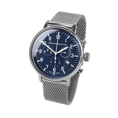 Aristo mens-watch Messerschmitt WatchクロノFlieger Watch me108???80?M Milanaiseband並行輸入品