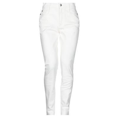 フェンディ FENDI パンツ ホワイト 38 コットン 97% / ポリウレタン 3% パンツ