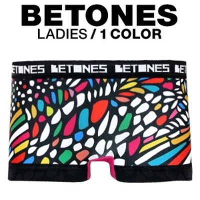 (ビトーンズ)BETONES Ladies CHURCH 立体成型 ローライズ レディース ボクサー ショーツ