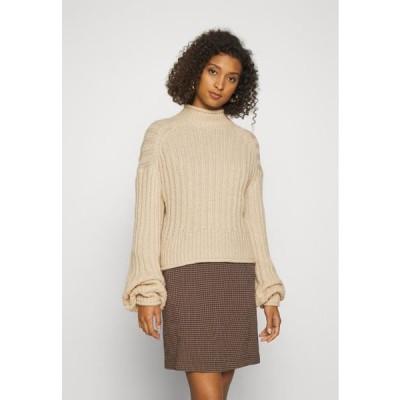 レディース ファッション LOVELY CHUNKY - Jumper - beige