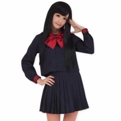 ハロウィン コスプレ ハロウィン ハロウィンパーティー セーラー服 コスプレ 制服 コスプレ セーラー服 制服 女子高生 大きいサイズ 長袖
