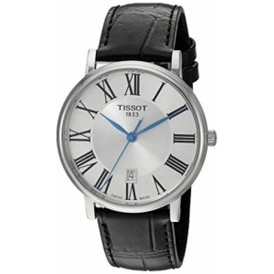 腕時計 ティソ メンズ Tissot Unisex Carson Swiss Quartz Stainless Steel Dress Watch (Model: T122410160