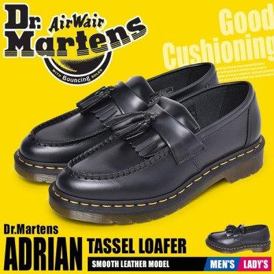 ドクターマーチン ローファー メンズ レディース エイドリアン タッセルローファー DR.MARTENS 22209001 ブラック 黒 靴 人気 新生活