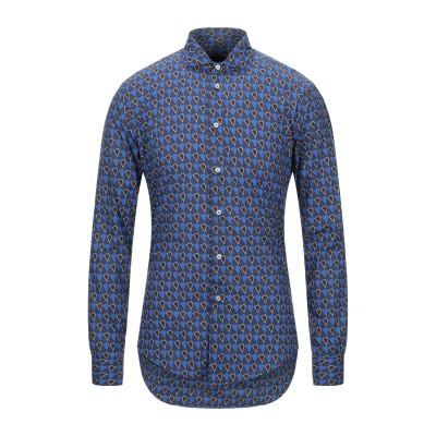 ブライアン デールズ BRIAN DALES シャツ ブライトブルー 39 コットン 100% シャツ